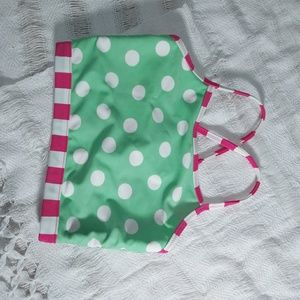 Hanna Anderson Girl swim top size 110 New with tag